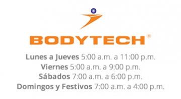 Horario Bodytech - Centro Comercial Caribe Plaza