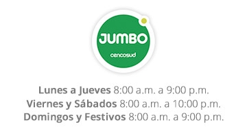 Horario Jumbo - Centro Comercial Caribe Plaza