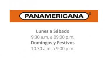 Horario Panamericana - Centro Comercial Caribe Plaza